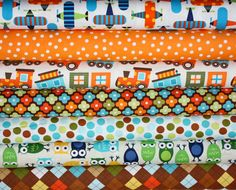 Boys Urban Zoologie and Remix Fabric by Ann Kelle by fabricshoppe, $19.75