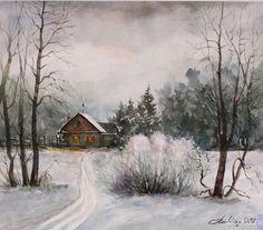 Мoruzhenko Lew. Winter evening