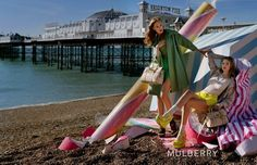 On the beach in Brighton