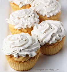 Sweet Potato Protein Cupcakes