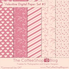 I have to post all of my Valentine freebies this week so you will have time to use them this year. Today I have a sweet little digital p. Printable Scrapbook Paper, Printable Paper, Free Digital Scrapbooking, Digital Scrapbook Paper, Digital Paper Freebie, Printable Recipe Cards, Freebies, Digital Pattern, Free Paper