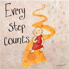 Cada paso cuenta...