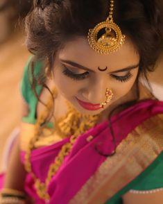 Maharashtrian bride by our senior most artist Heena. Call now to block with her Reena 9920778802 Model Marathi Bride, Marathi Wedding, Saree Wedding, Bridal Lehenga, Bridal Poses, Bridal Photoshoot, Wedding Poses, Wedding Shoot, Indian Wedding Photography