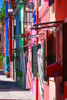 All sizes | Colorful Houses, Burano, Venice | Flickr - Photo Sharing!