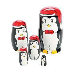 Penguin+Nesting+Dolls+-+OrientalTrading.com