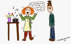 Weasley listening to a Celestina Warbeck song Waiting Here For You, Harry Potter Art, Family Guy, Songs, Fictional Characters, Fantasy Characters, Song Books, Harry Potter Drawings, Griffins