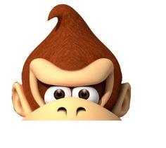 Print - Donkey Kong hoed