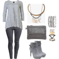 Plus size shades of grey.