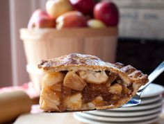 Favorite pies; Lyman Orchards in Middlefield, CT.