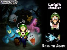 Luigi's Mansion...Mario's kidnapped and Luigi is armed with a ....vacuum??