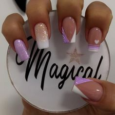 Witch Nails, Nail Art Techniques, Nail Games, Nail Accessories, Purple Nails, Love Nails, Beauty Nails, Manicure, Nail Designs