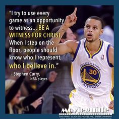Stephen Curry, NBA player for the Golden State WARRIORS Wow, now we know why he is so successful. He puts God first and is not afraid to acknowledge Jesus in public. Sport Basketball, Basketball Quotes, Love And Basketball, Basketball Players, Curry Basketball, Basketball Drills, Basketball Drawings, Basketball Finals, Fantasy Basketball