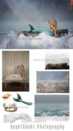 Make a Splash by HeartMarks Photography | Tutorial with Tara Lesher Photography #photoshop #composite #imaginewithhmp | Photoshop | Composite | Mermaid