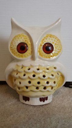 Ceramic Owl                                                     Painted by Grandma (E.M. Wolfe)