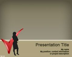 career woman powerpoint template woman powerpoint themes