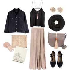 A fashion look from September 2014 featuring H&M tops, Zara skirts and Repetto pumps. Browse and shop related looks.