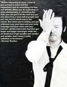 Norman on acting