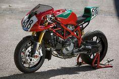 The Ducati 750 Daytona goes Radical | IAMABIKER