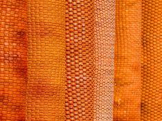 orange strukturiert