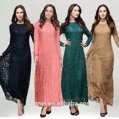 Musulmane dentelle robes pour femmes 2015 longues maxi robes malaisie Abayas à dubaï turque dames vêtements Abaya Kaftan-Vêtements islamiques-ID de produit:60281182270-french.alibaba.com