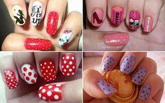pin up nails Pin Up Nails, Hair And Nails, Perfect Nails, Nail Arts, Bridal Style, World Of Fashion, Pedicure, Nail Designs, Projects To Try