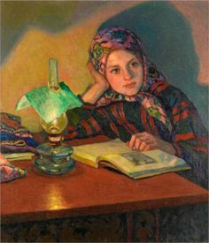 Inspiration - Nikolay Bogdanov-Belsky