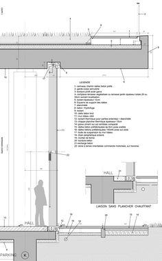 jean-philippe pargade technical and scientific centre of paris concrete hill designboom