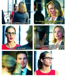 Arrow - Moira, Felicity & Oliver #2.8 #Season2