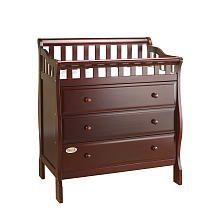 Babies R Us - Orbelle Dresser and Changing Station - Cherry