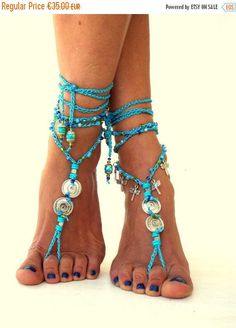 VERKOOP 30% Tahiti Barefoot Sandals Barefoot Beach door SoftCrystal