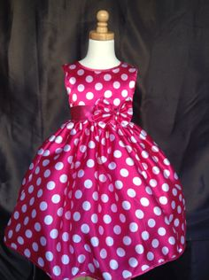Girl Dress  Minnie Mouse Inspired. by ForeverMyPrincess1, $19.99