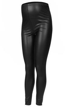 topshop leather maternity leggings
