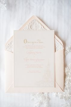disney fairy tale wedding invites @weddingchicks