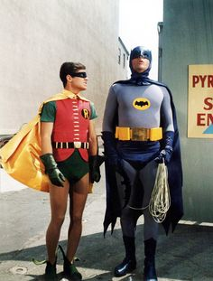 Batman (1965-66) The whole campus stopped two nights a week to watch--same Bat-time, same Bat-channel!