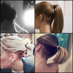 #anonymous #undercut #hiddenface #sexy #sexyhair #undercuts #hairdesign #hairart #napeshave #longhair #buzzedback #buzzedhair #ponytail #tattoo #tattoonape #tattooneck #napetattoo ❤️❤️❤️❤️