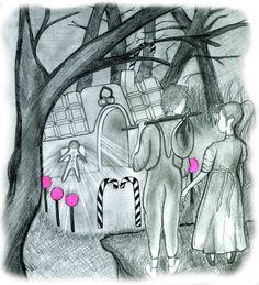 Design for our fairytale soapline: Hansel & Gretel