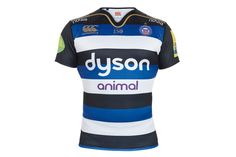 Bath Rugby Canterbury 2015 Home Shirt Rugby Rules, Mens Rugby Shirts, Canterbury, Black And White Colour, Bath, T Shirt, Shopping, Tops, Soccer Jerseys