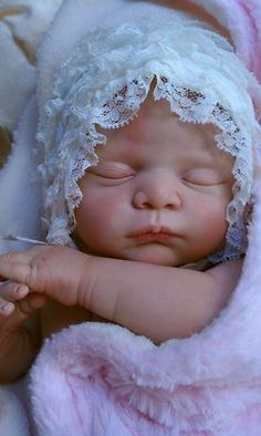 Queen's Crib Gorgeous Reborn Baby Doll Girl Princess 3 Month Layaway Offered | eBay