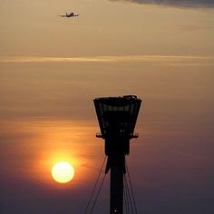 LHR sunset