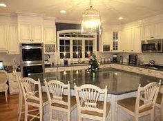 property brothers kitchens - Google Search- island layout