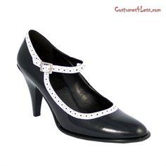Maryjane Black Pat Shoe