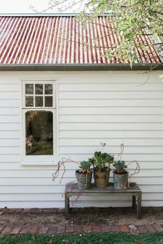 The White House, Daylesford - Marnie Hawson, purpose-driven interior, travel and lifestyle photographer Interior Photo, Interior Styling, Interior Design, Outdoor Spaces, Outdoor Living, Outdoor Decor, Seaside Garden, Daylesford, Color Tile