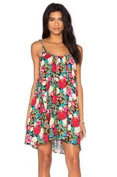 Wildfox Couture Floral Shift Dress in Multi | REVOLVE