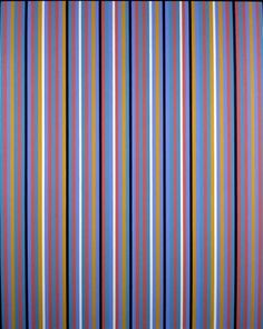 Bridget Riley, Edge of Day, 1981