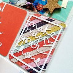 Project Life | New Year - love this card