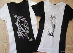 DIY: camisetas para parecer más delgada