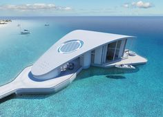 schopfer associates plans sting ray, a luxury floating residence