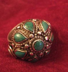 Iranian turquoise ring