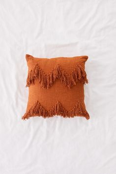 Shop Sadie Fringe Throw Pillow at Urban Outfitters today. We carry all the latest styles, colors and brands for you to choose from right here. Boho Throw Pillows, Bohemian Pillows, Diy Pillows, Decorative Pillows, Orange Throw Pillows, Bright Pillows, Purple Pillows, Cushions, Boho Aesthetic