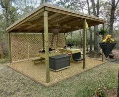 "Airgun forum: Built a back yard ""shooting range"" ."